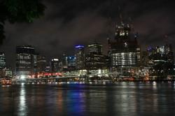 Brisbane under cloud
