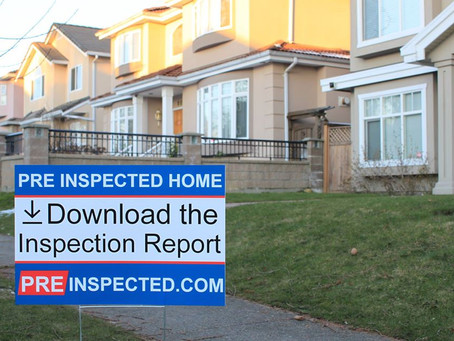 The benefits of a pre-listing inspection.