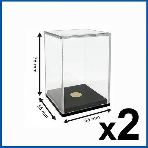 Hero Display Case 2 Pack