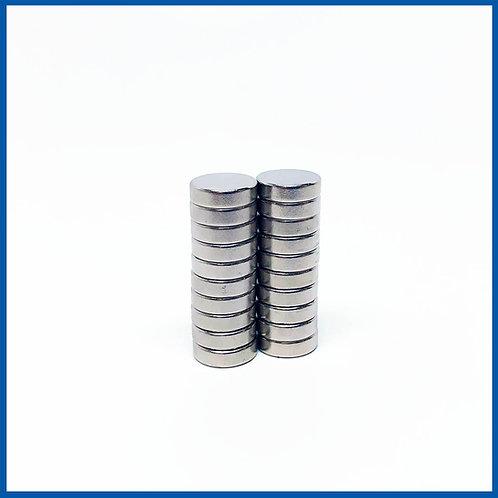 10mm x 3mm Neodymium Magnets - 20 Pack