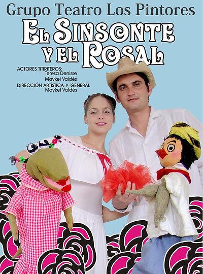 Cartel Arreglado El sinsonte y el rosal-
