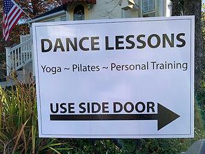Dance Lesson Sign.jpg