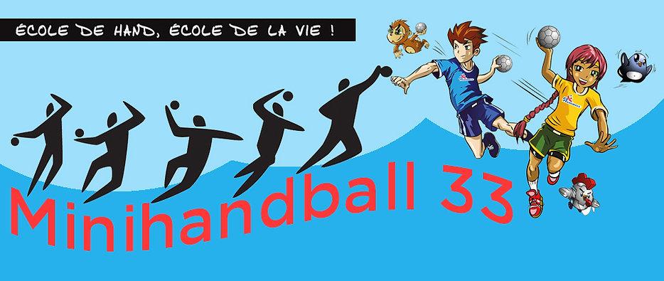 minihandball 33 Gironde