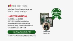 Bury Him by Doug Chamberlain's Virtual Book Tour