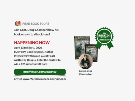 Bury Him by Doug Chamberlain's Virtual Book Tour