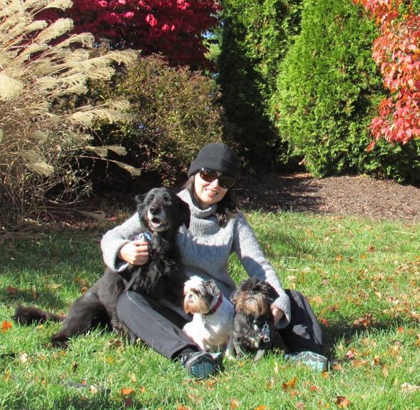 Sarah & dogs