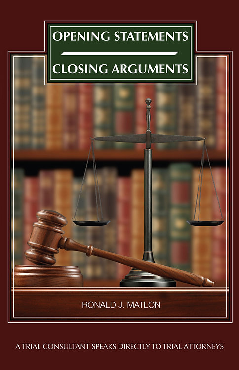 Opening Statements – Closing Arguments