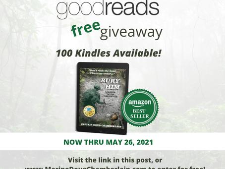 Book Giveaway For Bury Him: A Memoir of the Viet Nam War