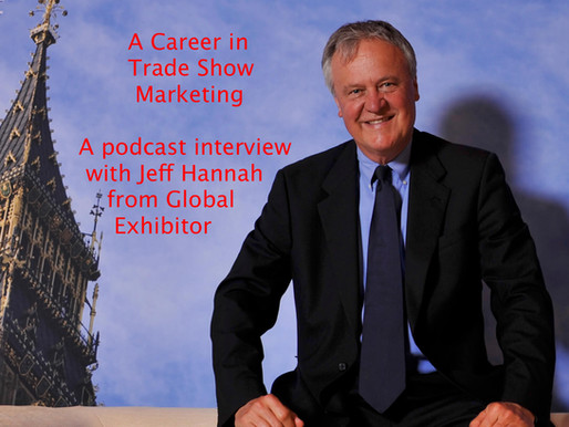Larry interviewed on The Global Exhibitor Podcast
