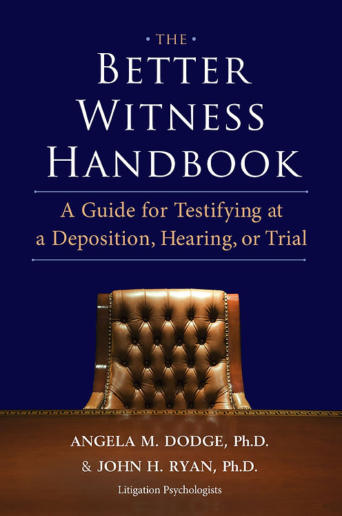 The Better Witness Handbook