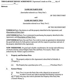 Earnest Money Agreement - No logo.png