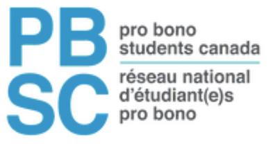 Pro Bono Students Canada