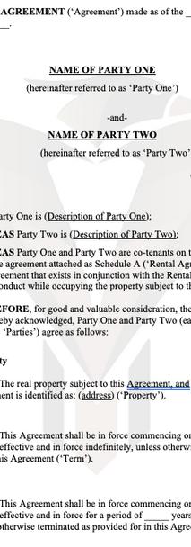 Misc Agreements