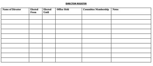 Director Register