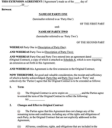 Contract Extension Agreement - No logo.p