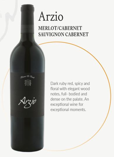 Arzio 2015 Merlot/Cabernet Sauvignon Cabernet