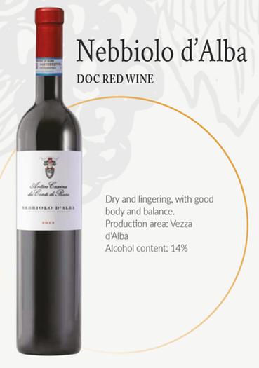 Nebbiolo d'Alba DOC Red Wine