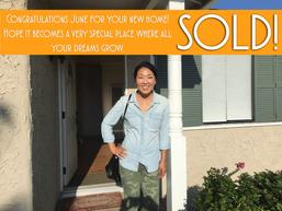 Sold! Congratulations June!   21126 Denker Ave