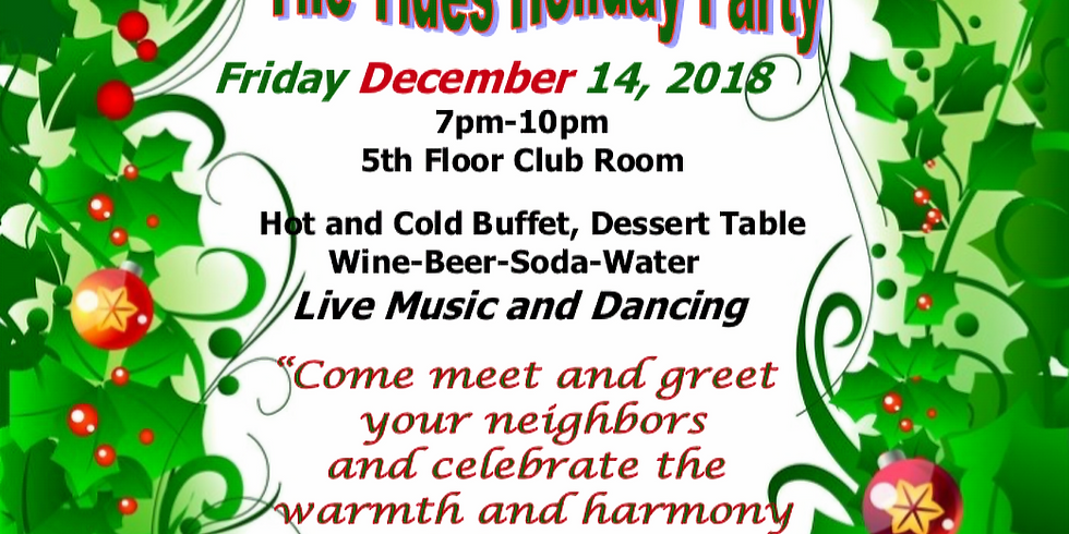 The Tides Holiday Party