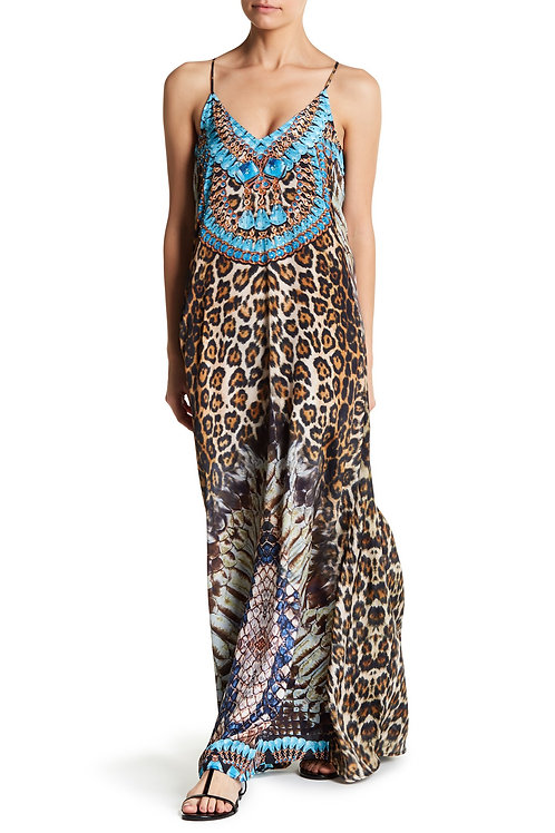 Leopard Snake Dress