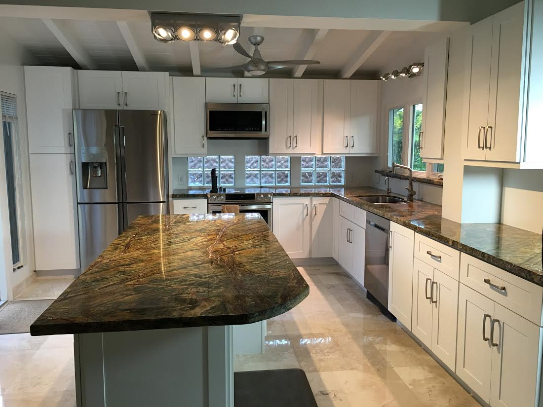 Rainforest Granite Countertops