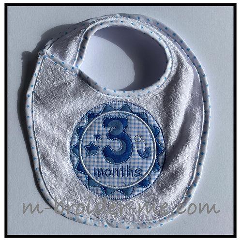 Baby Boy Milestone Badges