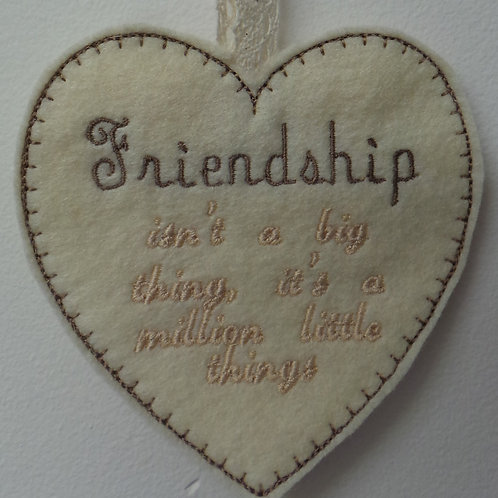 Friendship Heart Design