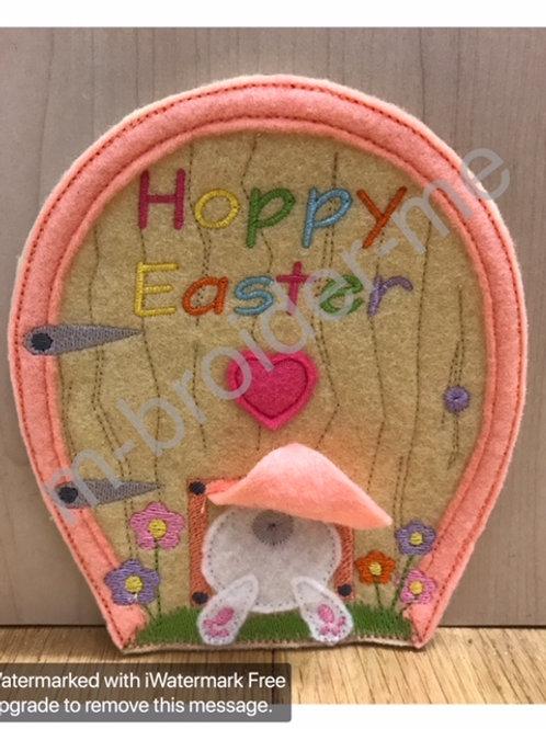Easter Bunny Door Design