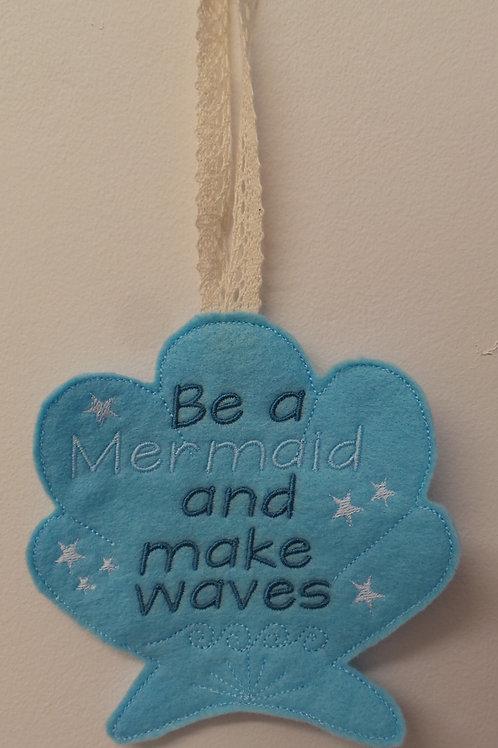 Mermaid Saying Design