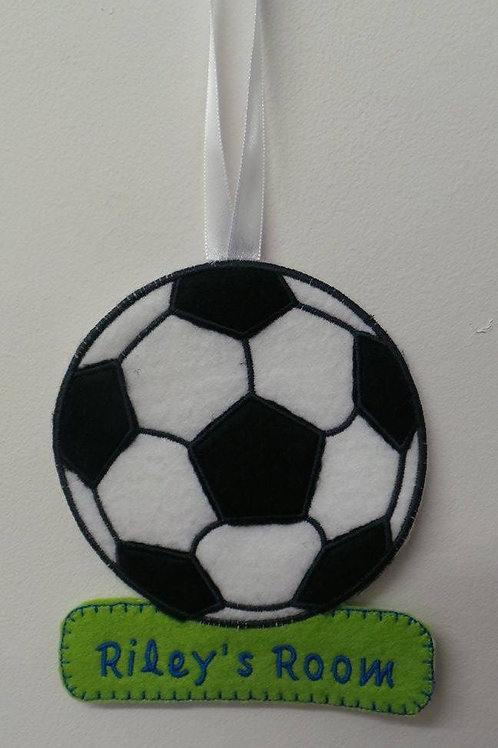 Football Wall Hanger Design