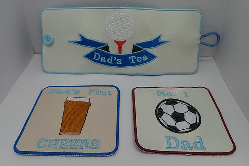 Mug Rug and Coasters