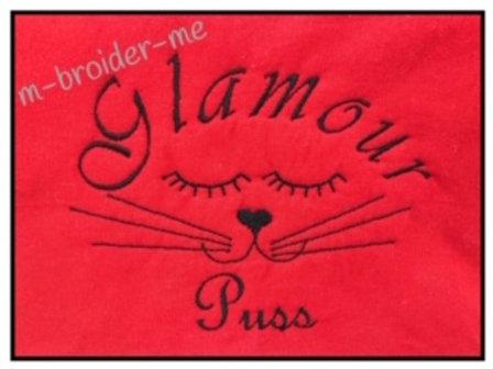 Glamour Puss 5 x 7