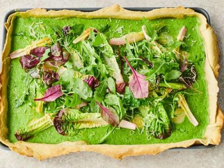 Avocado Pastry Quiche