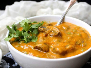 Medi-Veggie - September 30, 2020: Tari Wala Mushroom Masala Recipe by State Assemblyman Ash Kalra