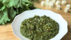 Spinach and Broccoli Saag