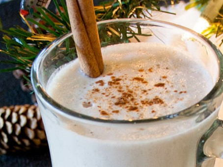 """Nut Nog"" (Raw Vegan Eggnog)"