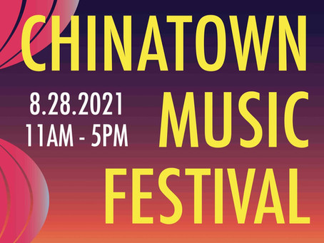 Upcoming Event: Chinatown Music Festival
