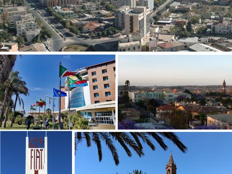 Asmara, la piccola Roma sopra al Corno d'Africa