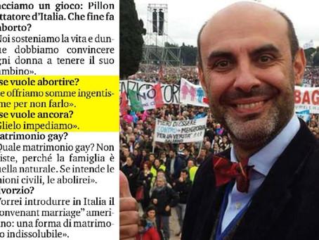 Ride Pillon, assolto dalla diffamazione contro LGBT