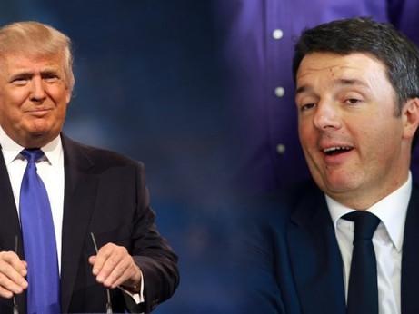 Renzi, il Trump italiano