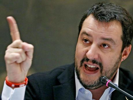 AAA cercasi visibilità disperatamente. Firmato Salvini