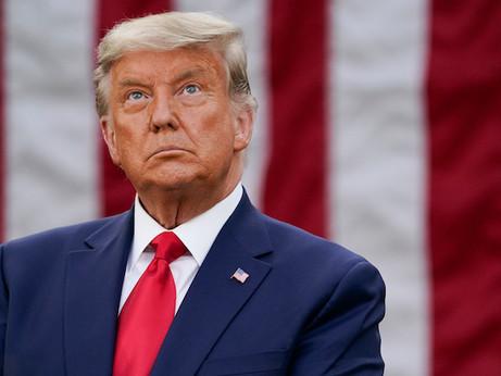 Trump imbucato alla Casa Bianca e Biden citofona