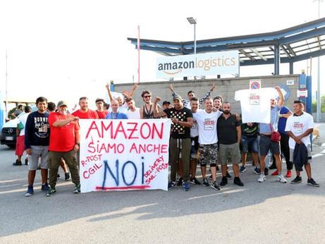22 marzo Amazon si fermerà: sciopero di tutta la filiera