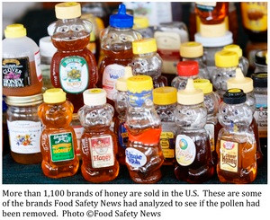 Tests Show Most Store Honey Isn't Honey
