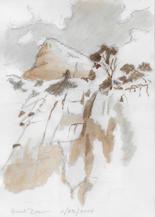 Cliff Sketch