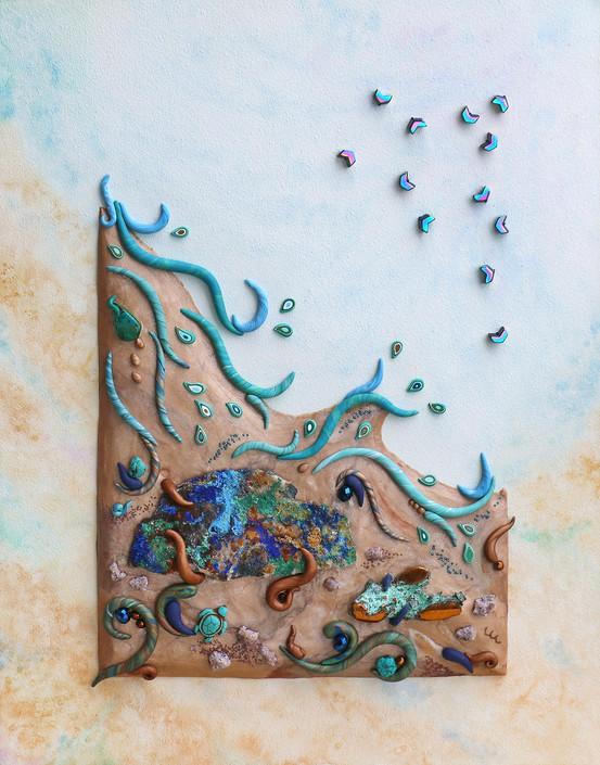 Copper-scape: Rocks & Water