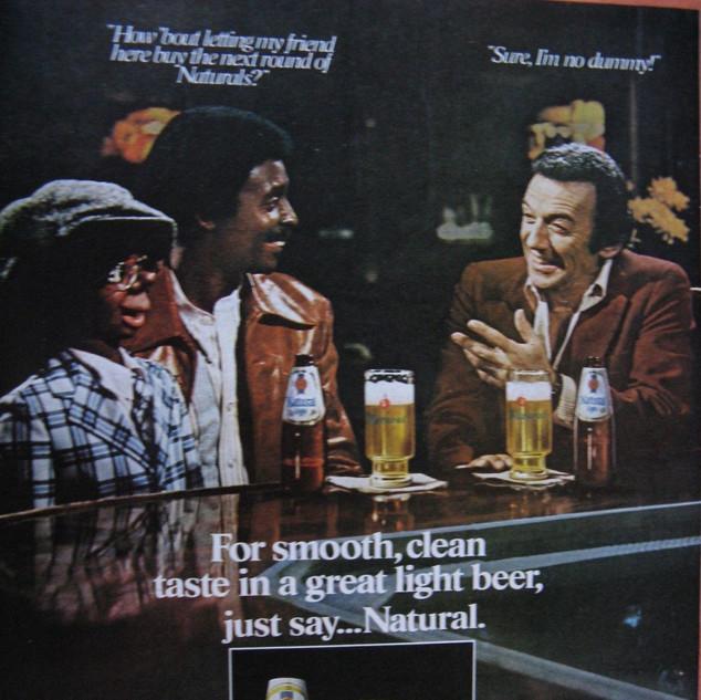 Natural Light Ad Norm Crosby