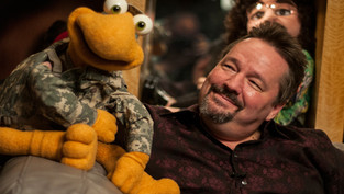 Terry Fator and Winston