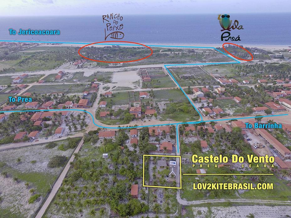 Where is Castelo Do Vento Pousada in Prea, Ceara, Brasil