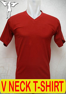 Short Sleeved V-Neck T-Shirt, Silkscreen Printing, Embroidery Printing, DTG printing, digital transfer, embroidery